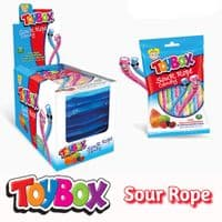 TOYBOX SOUR ROPE 12x80G PACK